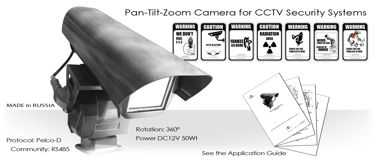 Pan-Tilt-Zoom Camera for protected areas.